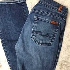 •2/$20• Size 25- 7 For All Mankind Jeans